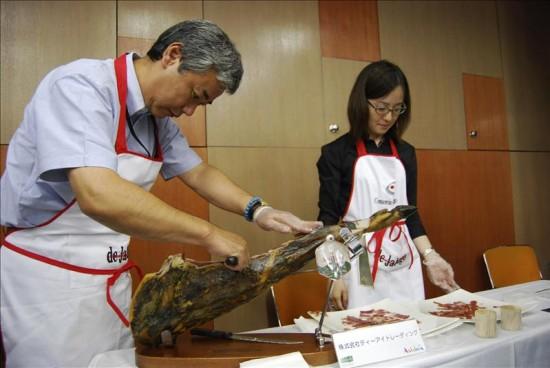 Il Giappone adotta il prosciutto iberico Bellota